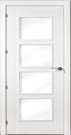 Puerta vidriera - Precios puertas lacadas en blanco ...