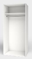 Interiores de armario módulares sencillos