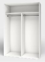 Interiores de armarios modulares con división