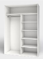 Interiores de armario modulares con baldas